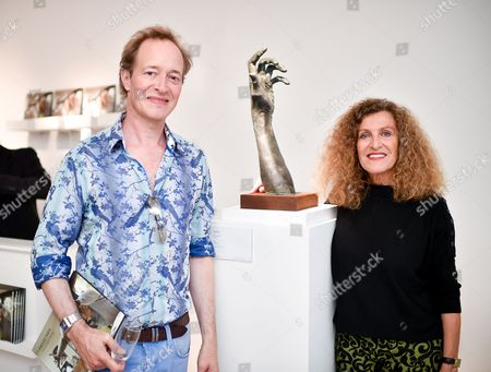Stock Photo of Anthony Marwood and Nicole Farhi