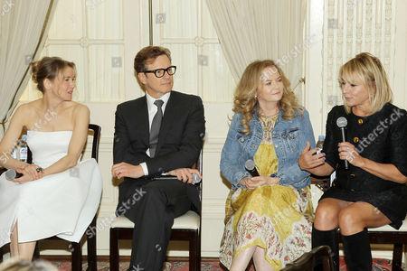 Renee Zellweger, Colin Firth, Sharon Maguire (Director), Helen Fielding (Writer)