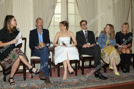 Savannah Guthrie (Moderator), Eric Feliner, Renee Zellweger, Colin Firth, Sharon Maguire (Director), Helen Fielding (Writer)