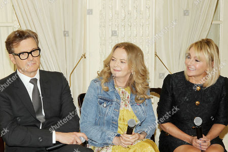 Colin Firth, Sharon Maguire (Director), Helen Fielding (Writer)