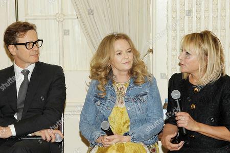 Colin Firth, Sharon Maguire (Director), Helen Fielding (Writer)