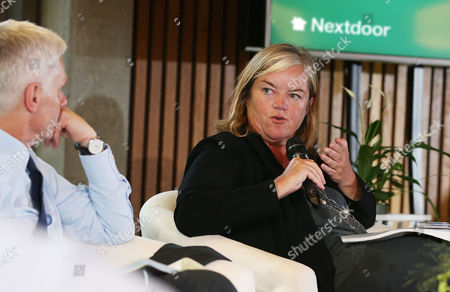 Dame Louise Casey speaks about the importance of community at the UK launch of Nextdoor, a new private social network for neighbourhoods which launches in the UK on September 14. Dame Louise Casey