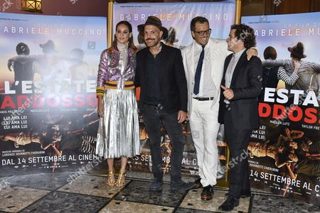 Editorial photo of 'Summertime' film premiere, Milan, Italy - 13 Sep 2016