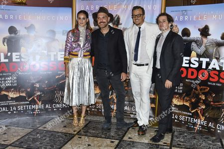 Editorial picture of 'Summertime' film premiere, Milan, Italy - 13 Sep 2016