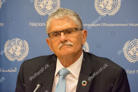 Mogens Lykketoft, outgoing president of the 70th session of the UN General Assembly, holds his final UN press conference.