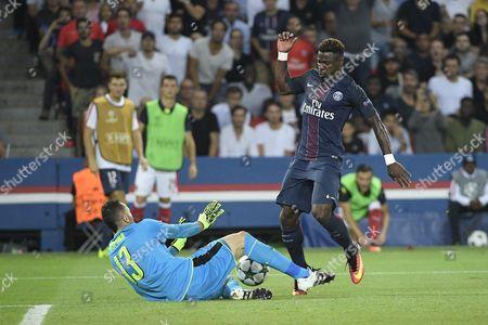 Editorial image of Paris Saint Germain v Arsenal, UEFA Champions League Group A football match, Parc des Princes, Paris, France - 13 Sep 2016