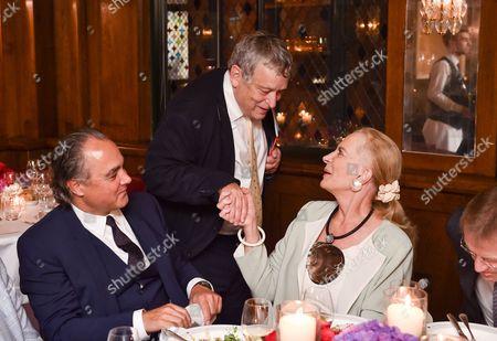Mathias Rastorfer, Professor Norman Rosenthal and Princess Michael of Kent