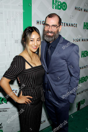 Greta Lee, Russell Gregory (Exec Producer)