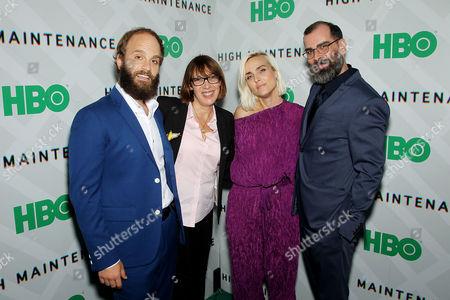 Ben Sinclair (Creator, Exec Producer), Nina Rosenstein (EVP, HBO Programming), Katja Blichfeld (Creator, Exec Producer), Russell Gregory (Exec Producer)