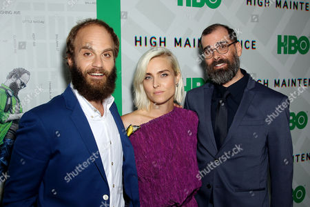 Stock Picture of Ben Sinclair (Creator, Exec Producer), Katja Blichfeld (Creator, Exec Producer), Russell Gregory (Exec Producer)