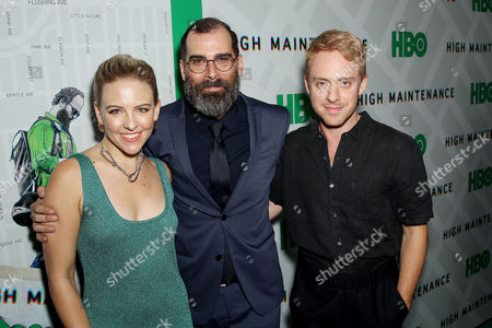 Helene Yorke, Russell Gregory (Exec. Producer), Max Jenkins