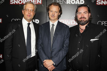 Editorial picture of Openroad Presents the New York Premiere of 'SNOWDEN', USA - 13 Sep 2016