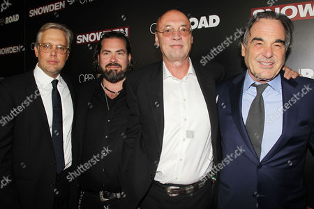 Stock Image of Eric Kopeloff, Philip Schulz-Deyle, Moritz Borman and Oliver Stone