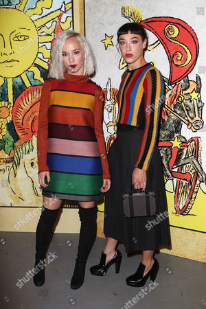 Caitlin Moe and Mia Moretti