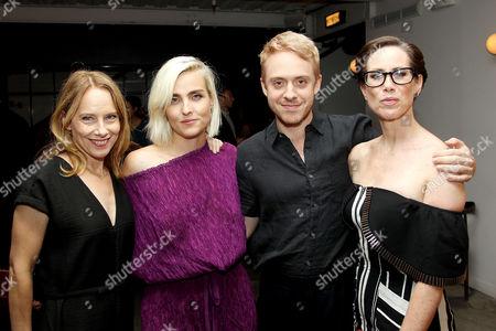 Stock Image of Amy Ryan, Katja Blichfeld (Creator, Exec. Producer), Max Jenkins, Miriam Shor