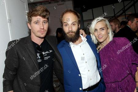 Garrett Hedlund, Ben Sinclair (Creator, Exec. Producer), Katja Blichfeld (Creator, Exec. Producer)
