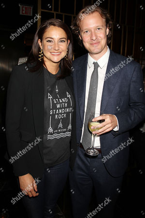 Shailene Woodley and Kieran Fitzgerald