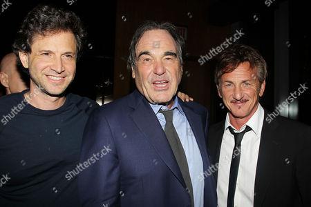 Bennett Miller, Oliver Stone and Sean Penn