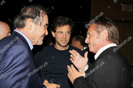 Oliver Stone, Bennett Miller and Sean Penn