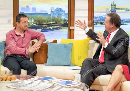 Chris Boardman with Piers Morgan