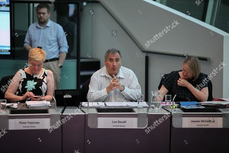 London Assembly Members - Fiona Twycross, Len Duvall and Joanne McCartney