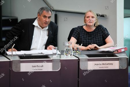 London Assembly Members - Len Duvall and Joanne McCartney