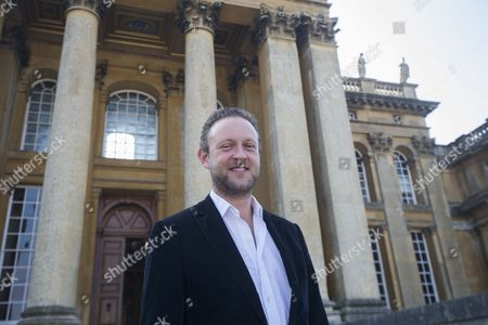 Lord Edward Spencer Churchill at Blenheim Palace.