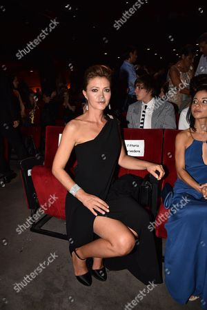 Editorial photo of Italian Musical Awards Gala, Rome, Italy - 13 Sep 2016