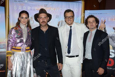 Stock Photo of Brando Pacitto, Matilda Lutz Gabriele Muccino, Jack Jaselli