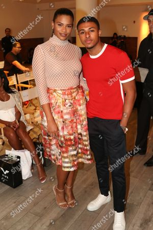 Kamie Crawford and Diggy Simmons
