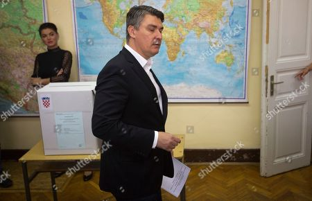 Editorial image of Parliamentary elections, Zagreb, Croatia - 11 Sep 2016