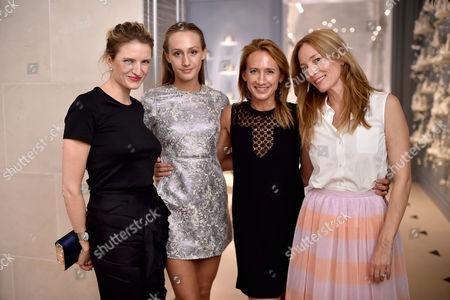 Editorial image of Lucie de La Falaise and Dior Maison cocktail reception, London, UK - 14 Sep 2016