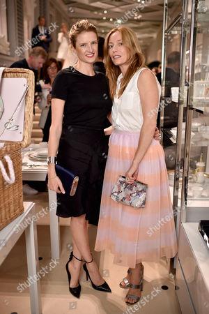 Editorial photo of Lucie de La Falaise and Dior Maison cocktail reception, London, UK - 14 Sep 2016