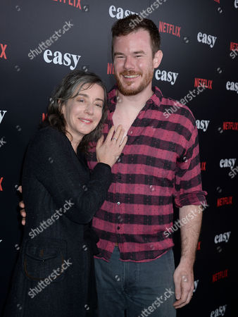 Joe Swanberg and Jane Adams