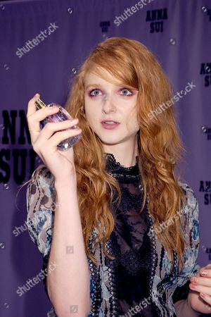 Editorial picture of Anna Sui show, Backstage, Spring Summer 2017, New York Fashion Week, USA - 14 Sep 2016