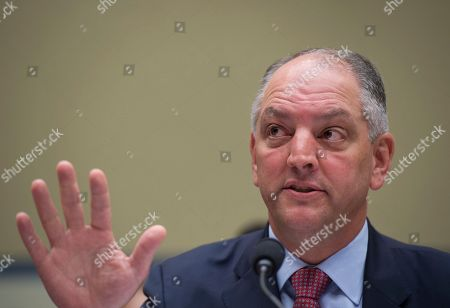 John Edwards Louisiana Gov. John Bel Edwards testifies in on Capitol Hill in Washington, before the House Oversight and Government Reform subcommittee on Transportation and Public Assets hearing on FEMA's response to the flooding in Baton Rouge, La