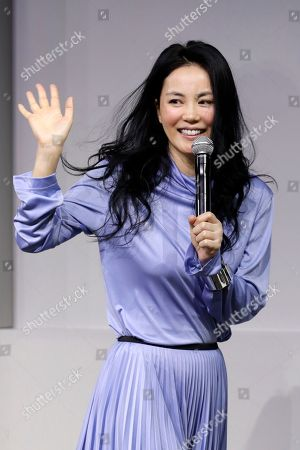 Editorial picture of Faye Wong press conference, Beijing, China - 09 Sep 2016