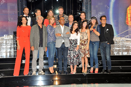 Editorial image of That and Which Show' TV photocall, Rome, Italy - 14 Sep 2016