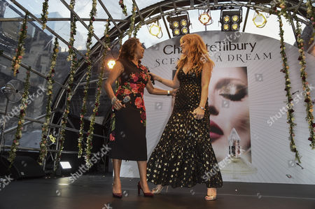 Editorial image of Charlotte Tilbury 'Scent of a Dream' fragrance launch, Spring Summer 2017, London Fashion Week, UK - 15 Sep 2016