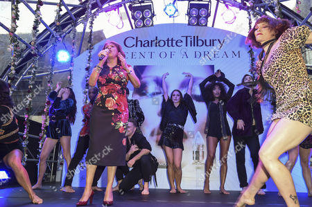 Editorial picture of Charlotte Tilbury 'Scent of a Dream' fragrance launch, Spring Summer 2017, London Fashion Week, UK - 15 Sep 2016