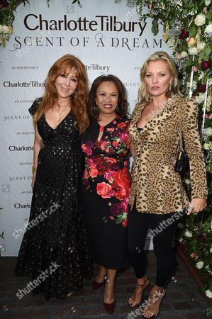 Charlotte Tilbury, Candi Staton and Kate Moss