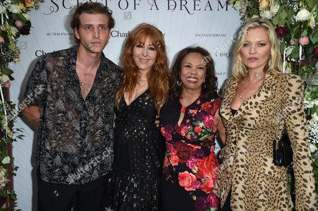 Nathan Mitchell, Charlotte Tilbury, Candi Staton and Kate Moss
