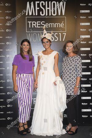 Paloma Chacon; Maria Roca; Marina Garcia Calderin (C)