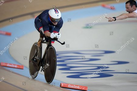 Jody Cundy Britain's Jody Cundy competes to win the gold in the men's C4-5 1,000-meter time trial during the Paralympic Games at the Olympic Velodrome in Rio de Janeiro, Brazil. The 37-year-old claimed his sixth Paralympic gold in Rio, denied to him during the London Olympics Games in 2012, when officials ruled he had false started