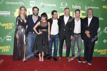 Editorial image of 'No Manches Frida' film premiere, Mexico City, Mexico - 13 Sep 2016