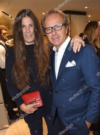 Elizabeth Saltzman and Andrea della Valle