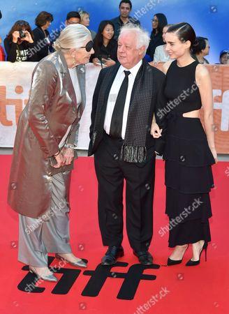 Vanessa Redgrave, Jim Sheridan and Rooney Mara