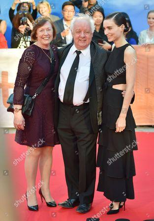 Jim Sheridan and Rooney Mara