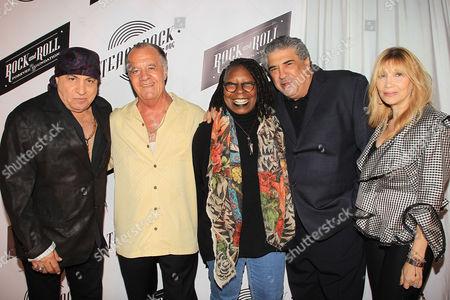 Stevie Van Zandt, Tony Sirico, Whoopi Goldberg, Vincent Pastore and Maureen Van Zandt