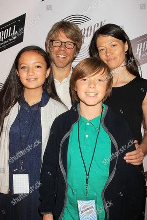 Dr. Warren Zain with Family